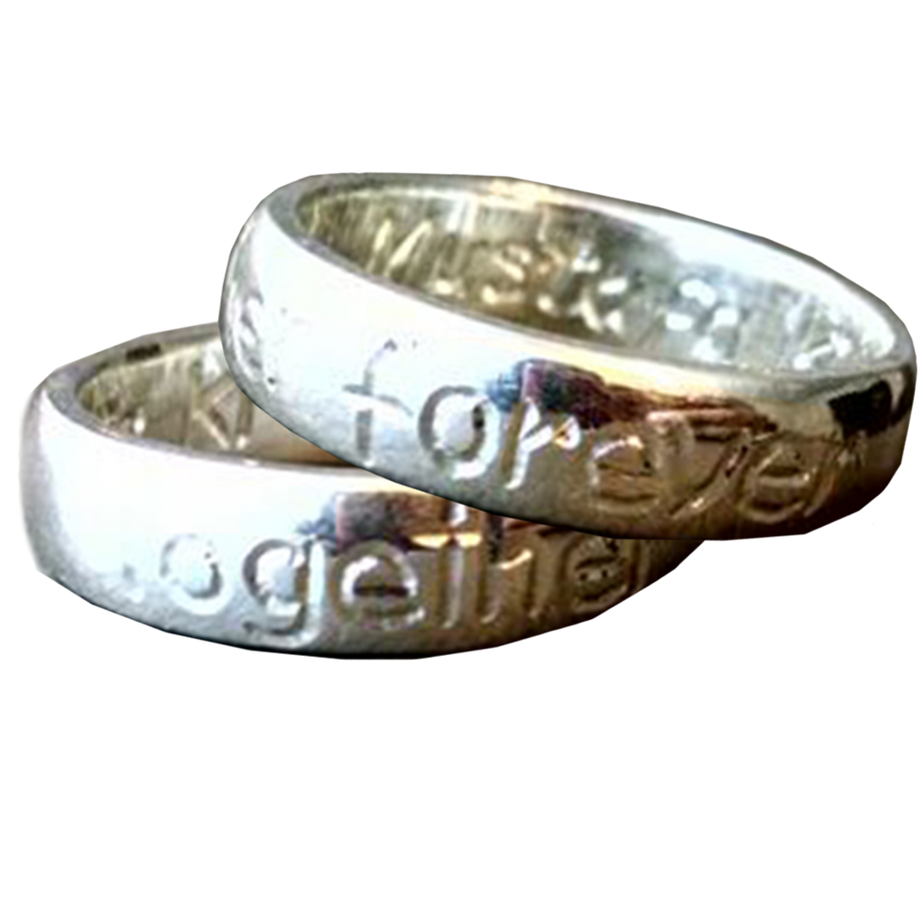 Personalized Silver Band