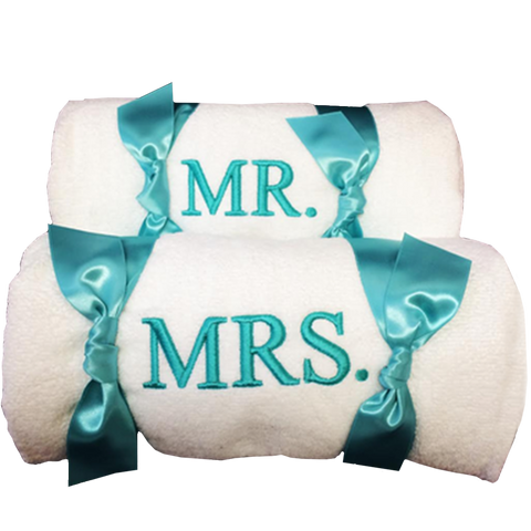Mr Mrs Customized Towels