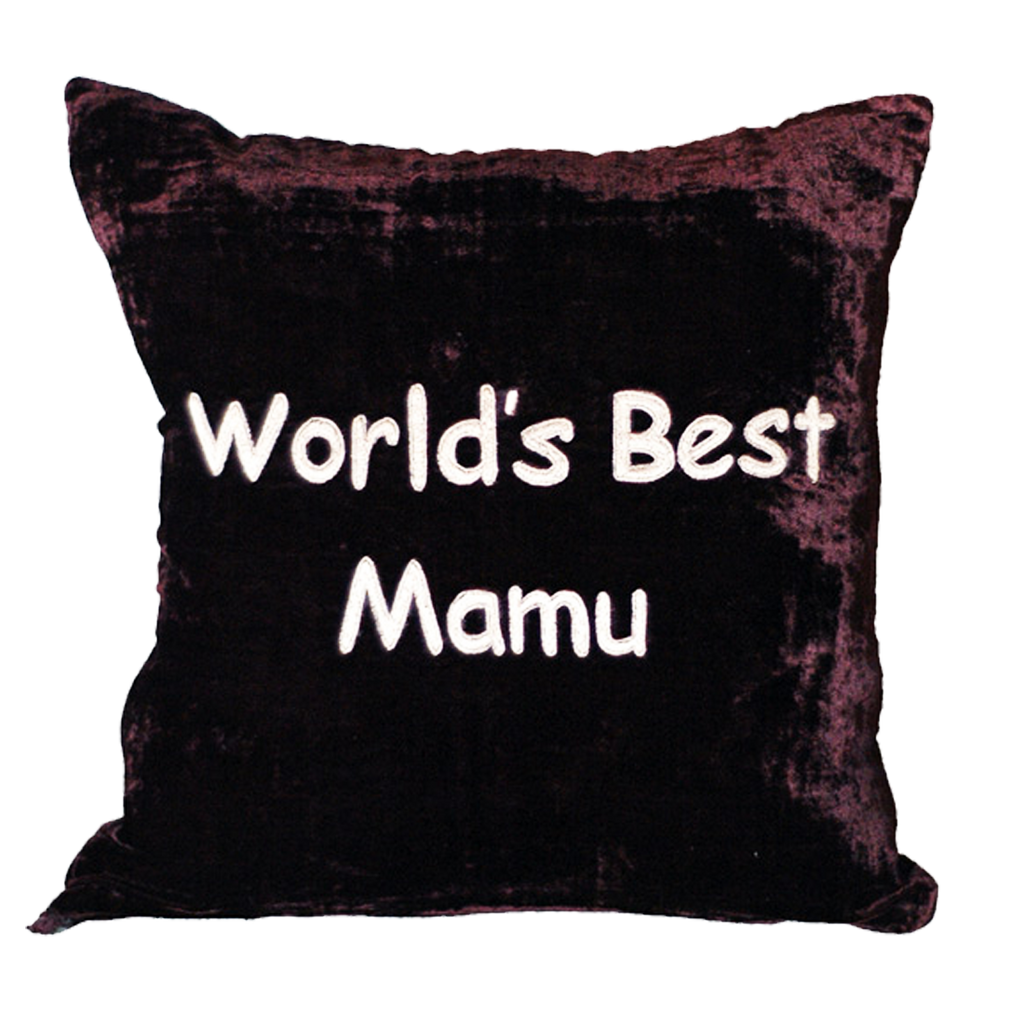 World's best Mamu Pillow