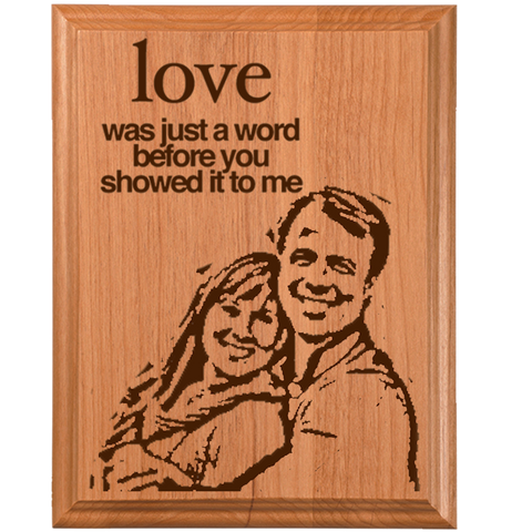Love Plaque 5