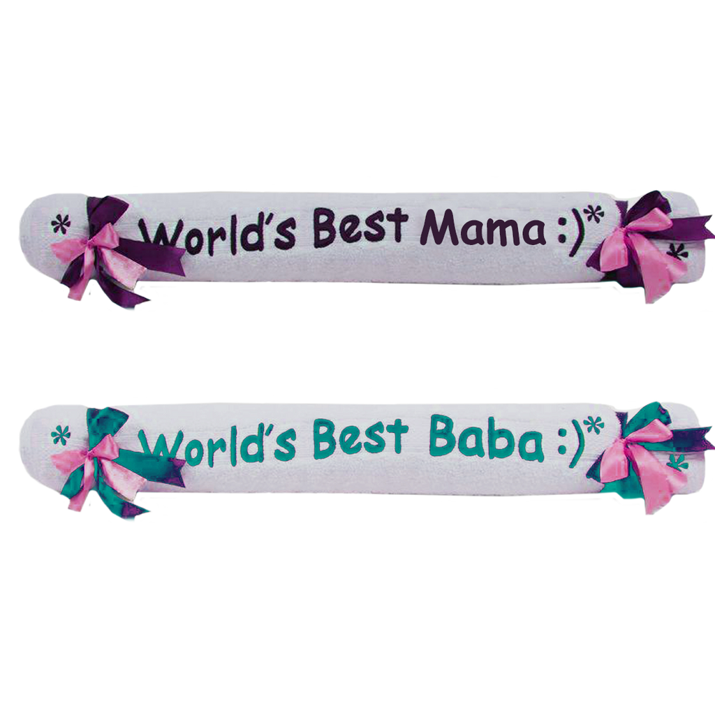 Customized Towels for Parents