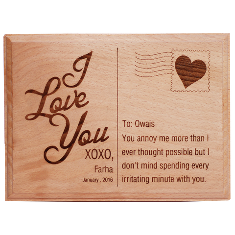Love Plaque 7