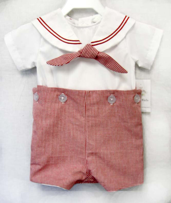 Baby Boy Clothes | Baby Boy Nautical Outfit  |  Baby Sailor Outfit | Outfit for Newborn - Baby Sailor Suit 292536