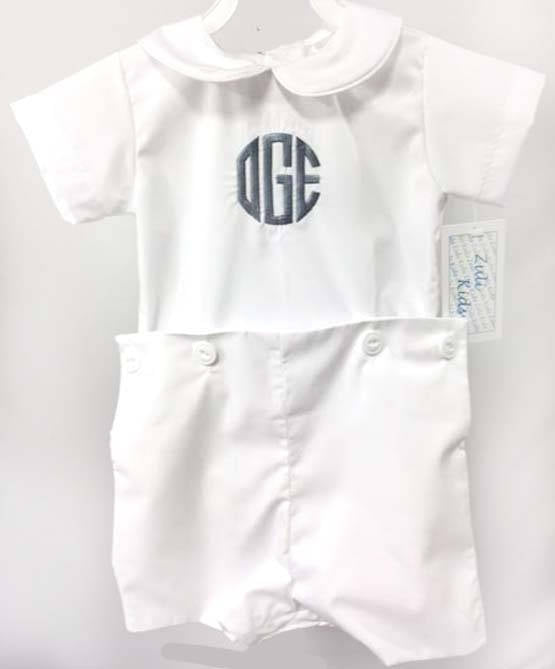 Baby Boy Dedication | Baby White Suit