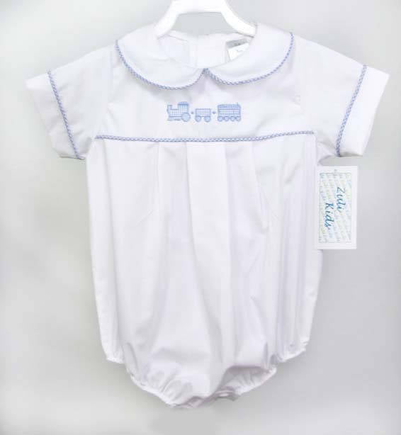 baby boy clothes train romper baby boy baptism baby boy