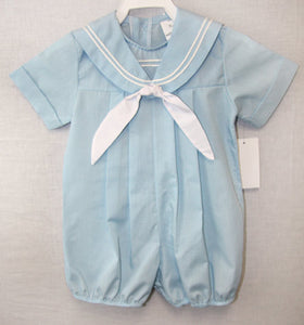 Baby Boy Nautical Outfit  - Baby Sailor - Baby Nautical -