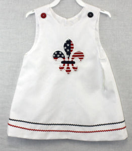 1Girls 4th of July Outfits | Baby Girl 4th of July Outfits | Baby Girl Jumper | Saints Clothing | 4th July Clothes | 4th July Outfit 2918227