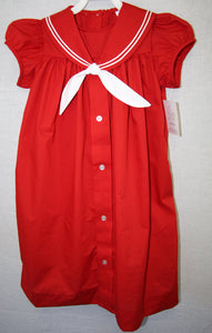 Baby Girl Nautical - Baby Sailor Dress