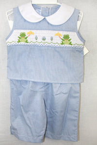 Smocked Clothing - Toddler Capri Pants