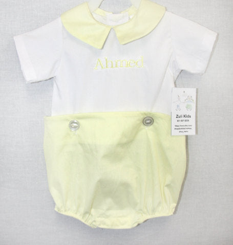 Baby Boy Coming Home Outfit | Baby Boy Clothes | Baby Jon Jon | Baby Bubble Romper | Baby Bubble Suit | Infant Boy Outfits 292091