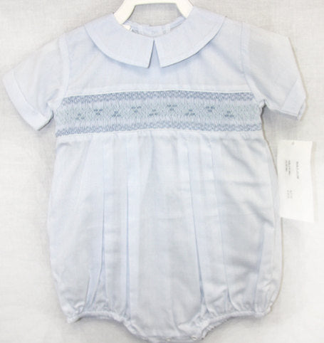 Boys Smocked Bubble