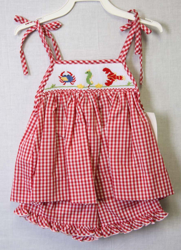 412460 - BB010 Baby Sunsuit - Baby Girl Sunsuit - Baby Clothes - Beach Clothing - Sun Dress - Baby Sun Dress - Baby Girl Clothes - Smock