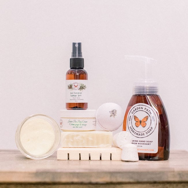NEW Products - Natural - Garden Path Homemade Soap - Canada