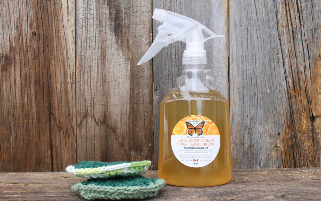 All-Purpose Cleaner - Garden Path Homemade Soap - Made in Canada