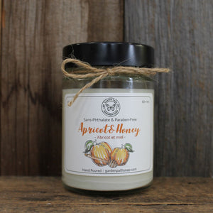 Apricot & Honey Soy Wax Candles