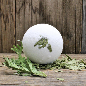 Boreal Bliss Bath Bomb (seasonal) | Essential Oils & Fragrance - Garden Path Homemade Soap