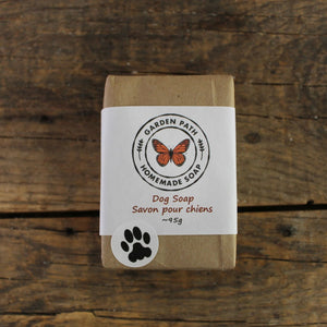 Dog Soap Bar | 100% Natural Ingredients - Garden Path Homemade Soap
