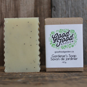 Gardener's Soap Bar | 100% Natural Exfoliating Soap with Essential Oils - Garden Path Homemade Soap