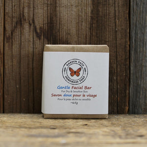 Facial Bar Soap - Gentle | Dry, Sensitive Skin | 100% Natural Ingredients - Garden Path Homemade Soap