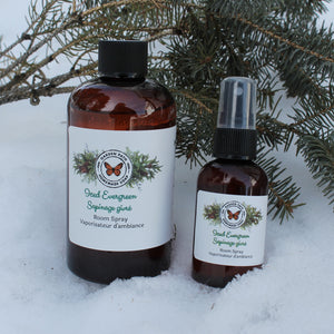 Iced Evergreen | Body & Room Spray - Garden Path Homemade Soap
