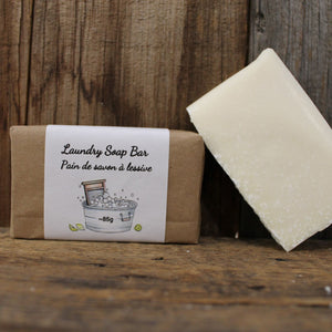 Laundry Soap Bar | 100% Natural Ingredients - Garden Path Homemade Soap