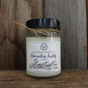 Lavender Fields Soy Wax Candles