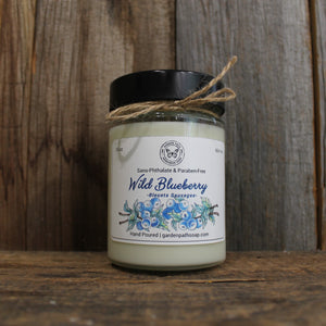 Wild Blueberry Soy Wax Candles