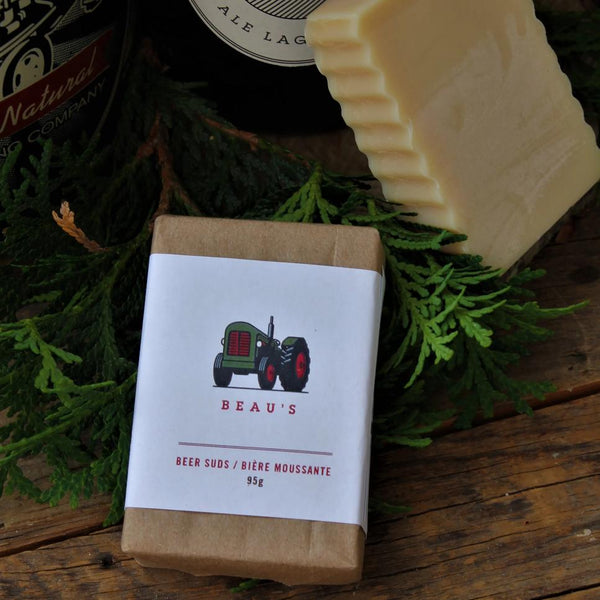 Beer Suds Bar Soap | Packaged | 100% Natural - Garden Path Homemade Soap