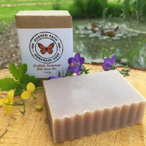 Endless Summer (limited edition) - Garden Path Homemade Soap