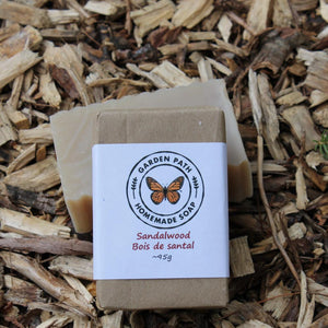 Sandalwood Bar Soap | Lightly Scented Sandalwood Fragrance