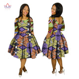 Summer Dresses Plus Size 2017 Women Fashion Dress 6XL Vestidos De Festa Longo O-Neck cloth africa print clothing 6xl BRW WY1503