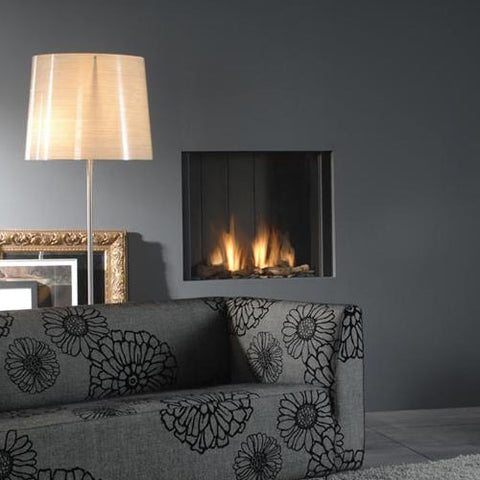Focar Faber Clear Log Burner Otel