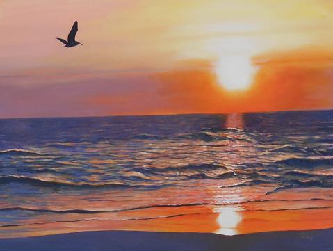 Siesta Key Commissioned Painting