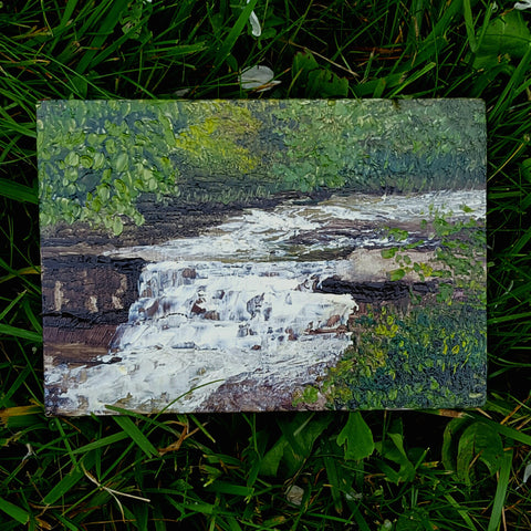 Hemlock Creek Painting 5/24/17