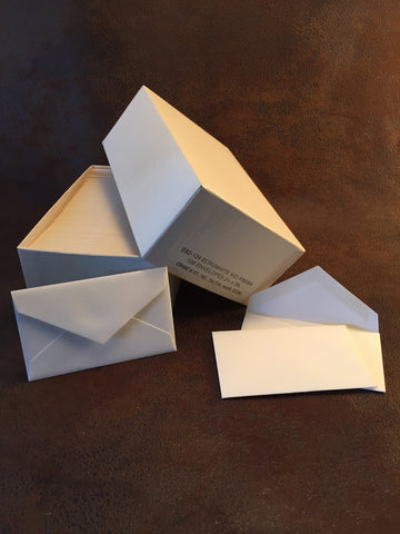 Crane Kid Finish Ecru Calling Card Envelopes