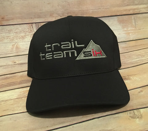 Trail Team Six - Flexfit Performance Hat Black