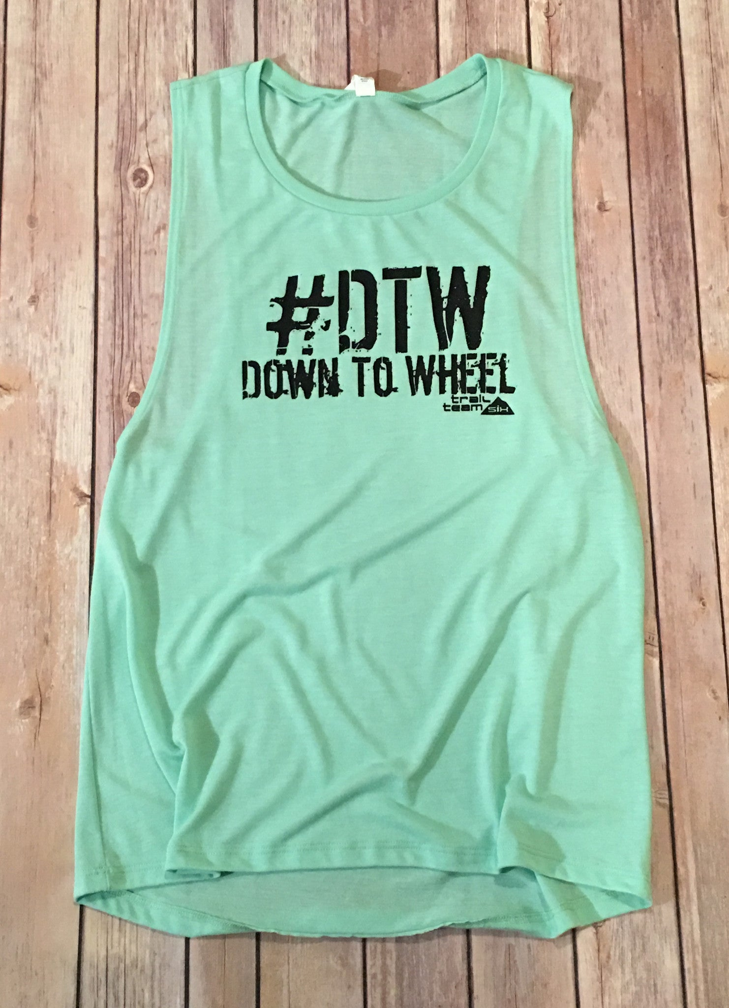 #DTW Down To Wheel - Muscle Tank