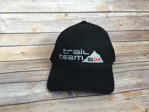 Trail Team Six - Flexfit Hat Black