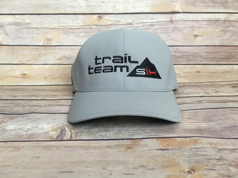 Trail Team Six - Flexfit Performance Hat Gray