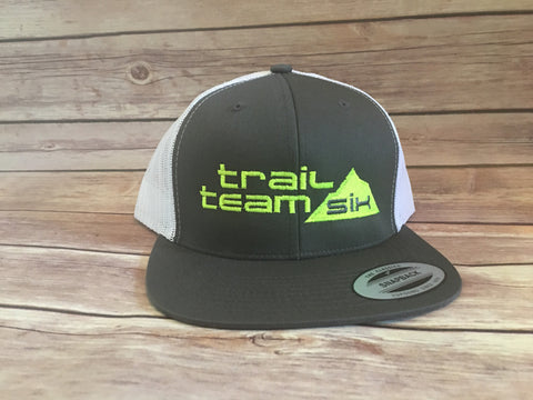 Trail Team Six - Gray Trucker Hat