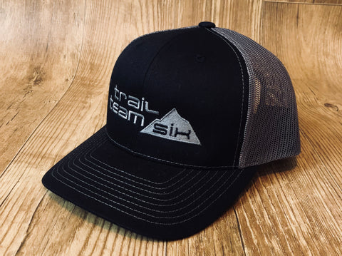 Trail Team Six - Gray and Black Trucker Hat