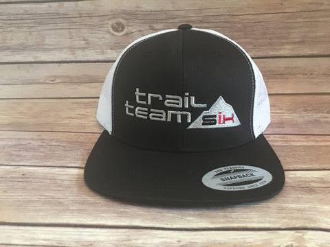 Trail Team Six - Black Trucker Hat