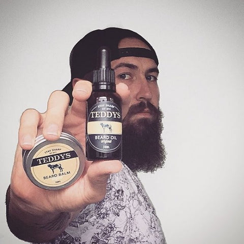 Teddys Beard Oil and Balm Review