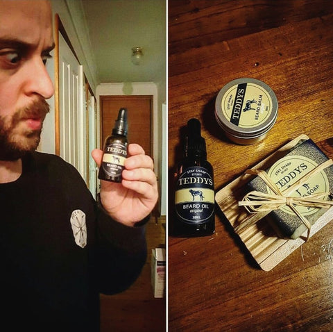 Tim Gonzo Ryan Teddy's Beard Care Gift Set Review