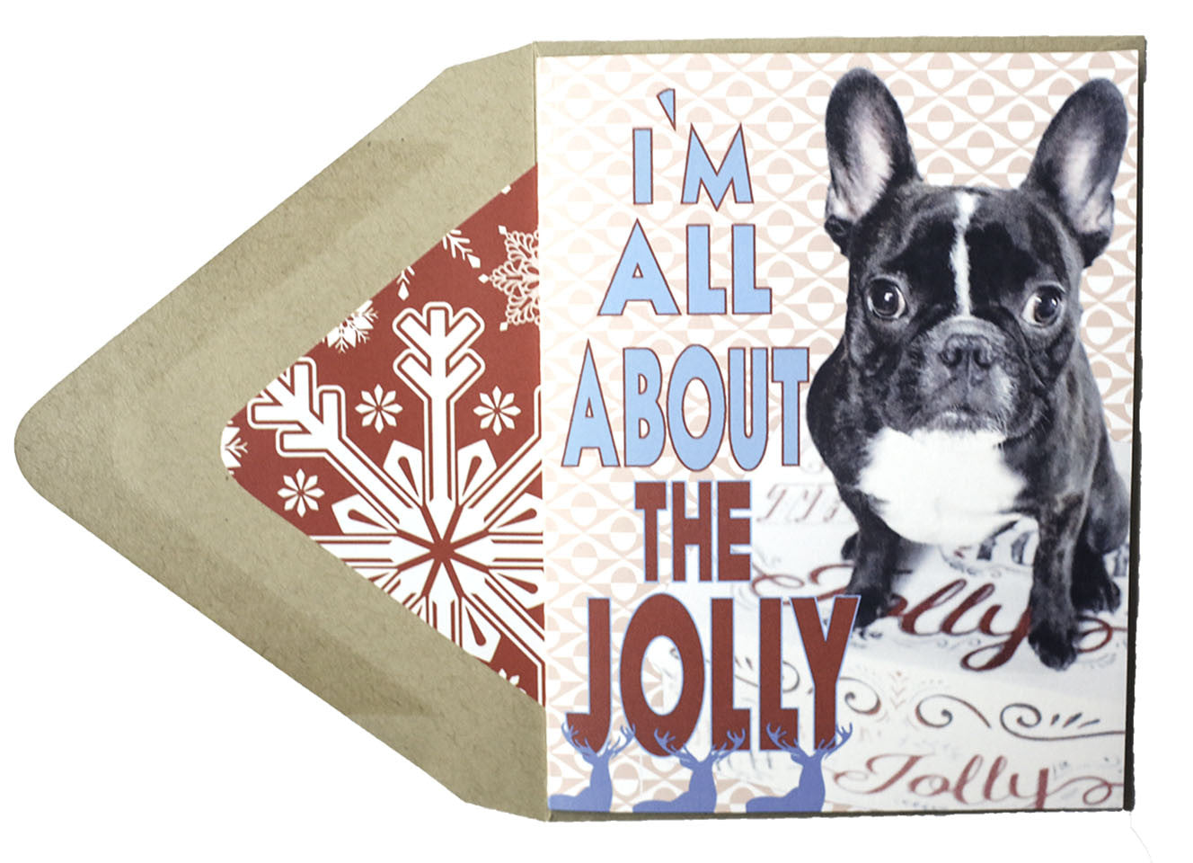 All About the Jolly : Christmas Card - Dog Series - Stilldez