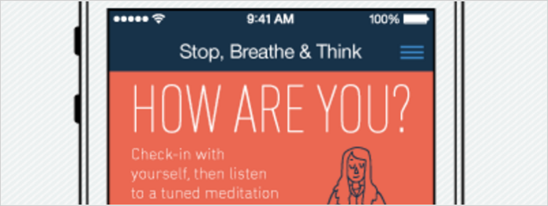 Stop, Breath & Think Meditation App