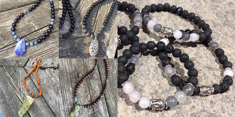 Wholesale mala bead necklaces and bracelets