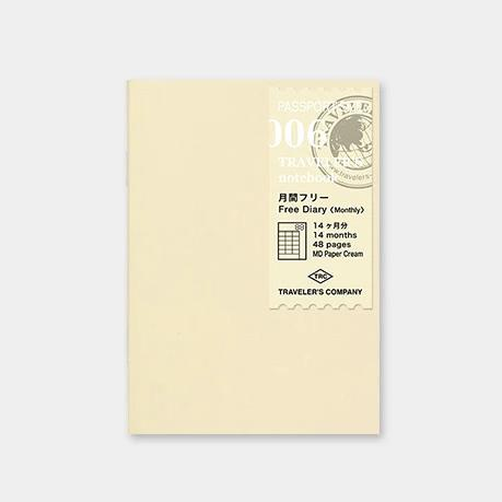 Traveler´s passport size Notebook – Dagbókarinnvols #6 Free Diary Month