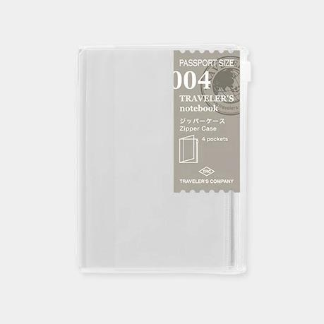 Traveler´s passport size Notebook – #4 Zip lock