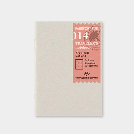 Traveler´s passport size Notebook – #14 Dot grid